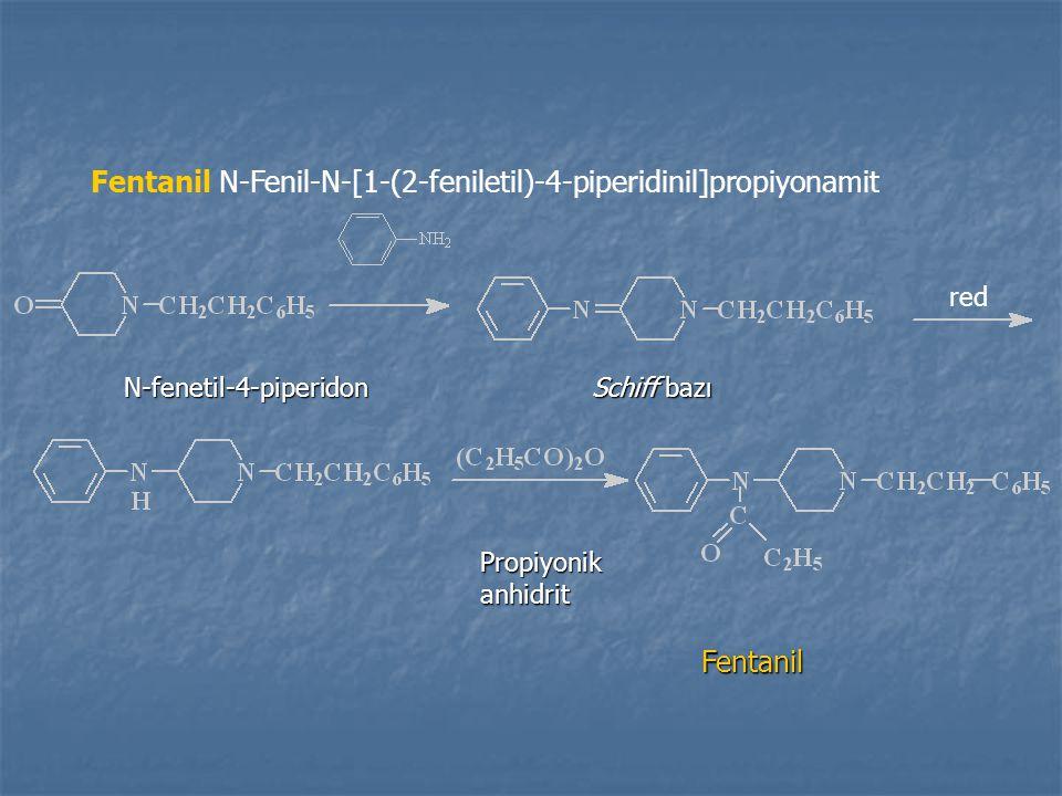 Fentanil N-Fenil-N-[1-(2-feniletil)-4-piperidinil]propiyonamit